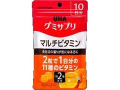 UHA味覚糖 グミサプリ マルチビタミン 袋20粒