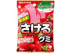 UHA味覚糖 さけるグミ つぶつぶ苺 袋7枚
