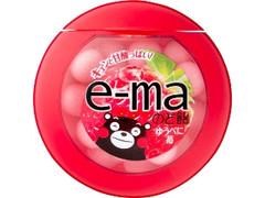 UHA味覚糖 e-maのど飴 ゆうべに苺 ケース33g