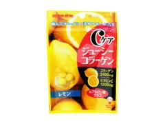 UHA味覚糖 Cケアジューシーコラーゲン レモン 袋40g