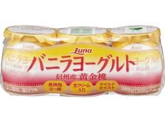 日本ルナ バニラヨーグルト 信州産 黄金桃 カップ100g×3