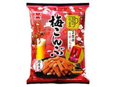 岩塚製菓 大人のおつまみ 梅こんぶ 袋80g