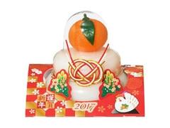 越後製菓 鏡餅 酉年 謹賀新年2017 パック160g