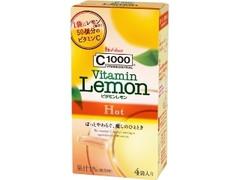 ハウスウェルネス C1000 ビタミンレモン Hot 箱6.4g×4
