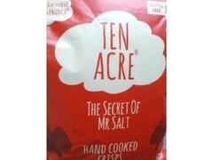 Yumsh Snacks TEN ACRE ポテトチップス 塩味 THE SECRET OF MR SALT