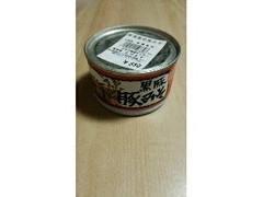 黒豚みそ 加世田常潤高校 缶190g