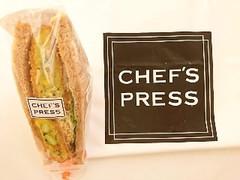 CHEFS PRESS 5種野菜のコーンコロッケサンドイッチ
