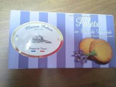 株式会社朝日 Maison Peltier Palets au Miel de Lavande パレット ラベンダーはちみつ 箱 2個入り