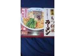 東福食品有限会社 福岡空港限定 博多もつ鍋風ラーメン あっさり醤油スープ