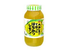 広島ゆたか 大長レモンではちみつレモン 瓶980g