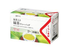 くらし良好 一煎用抹茶入り緑茶TB 20袋 箱40g