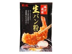 K&K 揚げ自慢 生パン粉 袋120g