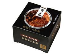 K&K 缶つま極 松阪牛大和煮 箱160g