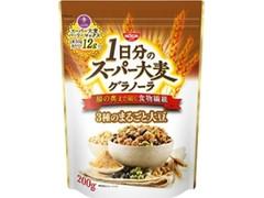 シスコ 1日分のスーパー大麦グラノーラ 3種のまるごと大豆 袋200g