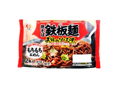 シマダヤ 焼そば鉄板麺 お好みソース味 袋430g