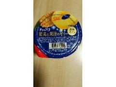 シジシージャパン たっぷり果実と果汁のゼリー 黄金パイン 230g