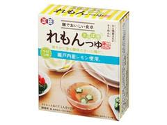 正田醤油 麺でおいしい食卓 れもんつゆ 箱150g
