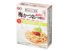 正田醤油 麺でおいしい食卓 梅かつおつゆ 箱40g×2