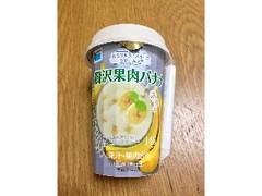 高梨乳業 ふるフルスイーツクリームラテ 贅沢果肉バナナ カップ150g
