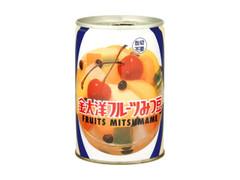 金太洋 フルーツみつ豆 缶425g