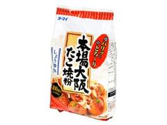 オーマイ 本場大阪たこ焼粉 しょうゆ味 袋500g