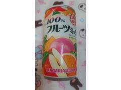 サンガリア 100%フルーツミックスジュース 缶190g