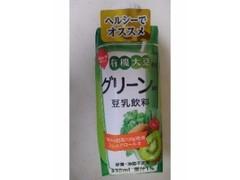 スジャータ 有機大豆使用 グリーンMIX 豆乳飲料 パック330ml