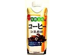 スジャータめいらく 有機大豆使用 コーヒー 豆乳飲料 パック330ml