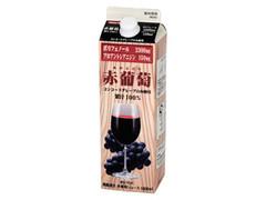 スジャータ プレミアム機能果汁 赤葡萄 パック1L