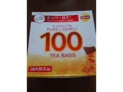 ユニリーバ リプトンピュア&シンプルティーパック 100袋