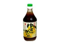 フジジン ぽん酢しょうゆゆずのめぐみ 瓶500ml