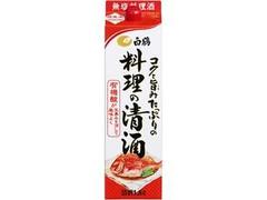白鶴 コクと旨味たっぷりの料理の清酒 パック1.8L