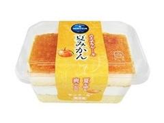 モンテール 小さな洋菓子店 カステラケーキ 夏みかん カップ1個
