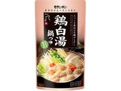 モランボン 鶏白湯鍋つゆ 袋750g
