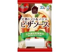 モランボン ピザソース 完熟トマト&バジル 袋35g×2