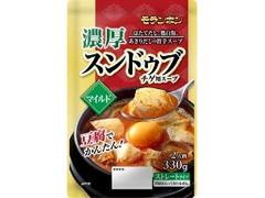 モランボン 濃厚スンドゥブチゲ用スープ マイルド 袋330g