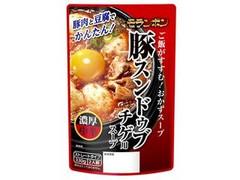 モランボン 豚スンドゥブチゲ用スープ 袋330g