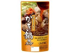 モランボン かき鍋用スープ みそ味 袋750g