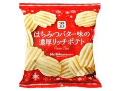 セブンプレミアム はちみつバター味の濃厚リッチポテト クリスマスパッケージ 袋60g