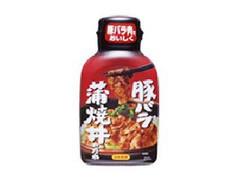 日本食研 豚バラ蒲焼丼のたれ ペット210g