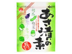 つけもと あさ漬の素 旬の野菜が美味しく漬かる 素材の持ち味を生かすトリハロース使用 袋80g