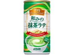 DyDo コクGrand time 和みの抹茶ラテ 缶185g