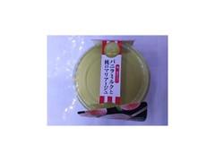 徳島産業 和三盆仕立てバニラミルクと桃のマリアージュ 1個