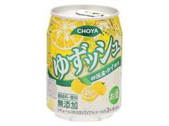チョーヤ ゆずッシュ 缶250ml