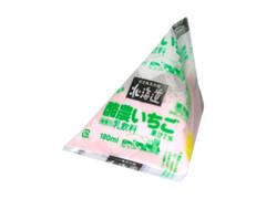 毎日牛乳 北海道酪農いちご パック180ml