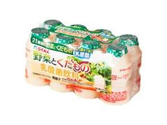 四国乳業 らくれん 野菜とくだもの 乳酸菌飲料 8本入 パック520ml