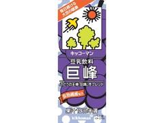 キッコーマン 豆乳飲料 巨峰 パック200ml