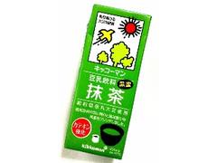 キッコーマン 豆乳飲料 抹茶 パック200ml
