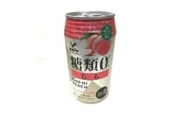富永貿易 神戸居留地 糖類0 もも チューハイ ピーチ 350ml