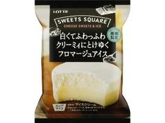 ロッテ SWEETS SQUARE 白くてふわっふわクリーミィにとけゆくフロマージュアイス 袋120ml